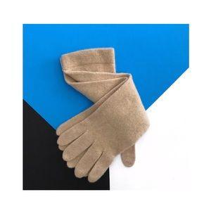 j.crew • nwt cashmere & wool blend gloves